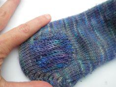 Sock darning tutorial.