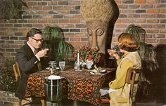 Dining out in Tiki Modern