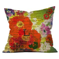#josscontest  I pinned this Orlene II Pillow from the In Full Bloom event at Joss and Main!