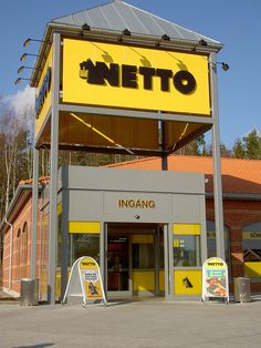 Netto is a Danish grocery chain that has now spread to other countries.