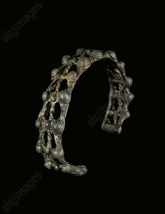 Celtic fretworked bronze armlet, Czech Republic, 3rd century BC