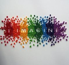 I Imagine Quilling - a similar image to this one (made by the same artist) is currently being used by the Ottawa Library for their research campaign. My youngest LOVES it - I'd love to have a poster of it for her.