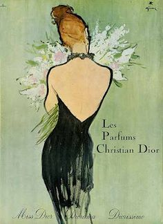 Rene Gruau art   René Gruau pour Dior Parfums