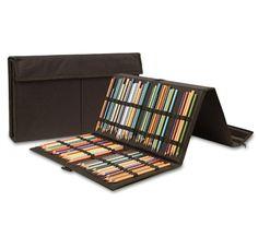 Storage For Graphite Pencils, Colored Pencils, Pens, Markers, Etc..