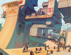 NARR8 - JAM Cityscape by Vasili Zorin