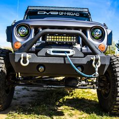 Our Hammer Forged front bumpers were designed and built with hardcore wheeling in mind. Inspired by King of the Hammers style racing and crawling these bumpers are designed to perform on the rocks whe