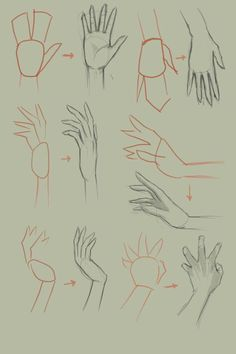 How to draw hand video tutorial