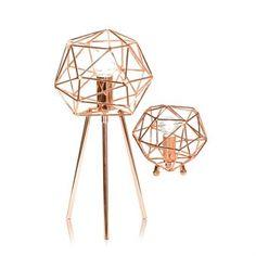 Diamond Tischleuchte - Kupfer - Globen Lighting
