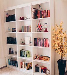 Biblioteca em casa! #decoração #decor #dicas