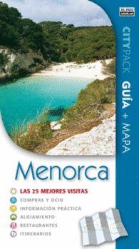 MENORCA CITYPACK  las 25 mejores visitas. Guía turística con mapa