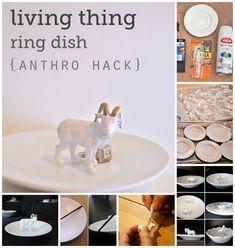 Ram Dish / 25 Clever DIY Ways To Keep Your Jewelry Organized (via BuzzFeed)