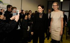 Royals & Fashion - Princess Mary attended the gala DR Danish television channel which was held in Sonderborg. She was there with Princess Mary Foundation.