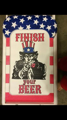 Uncle Sam cooler