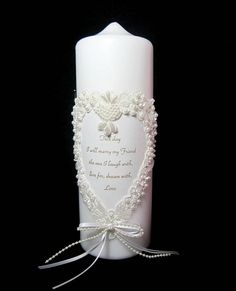 Jamie Lynn Wedding 40th Anniversary Collection Unity Candle