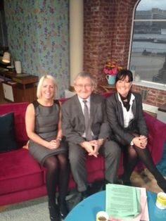 NuVitality Products joins Dr Chris on the couch at ITV This Morning.