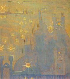 Konstantinas Čiurlionis 1907 sonates du soleil .Allegro.jpg (574×651)