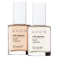 Avon Nail Experts French Manicure Kit