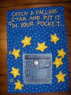 Catch a falling star and put it in the pocket! The Whitworth Family: Quiet Book Finally Done!