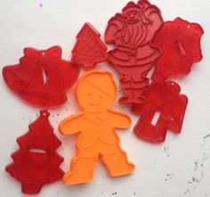 Vintage Christmas Cookie Cutters by lishyloo on Etsy, $10.00