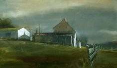 Farmhouse Near Oxford,oil, Randall Exon