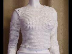 Blusa Crochet punto Calado paso a paso