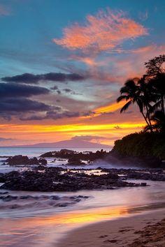 Makena Cove Sunset, Maui, Hawaii