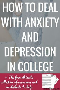 Depression and anxiety are dealt with by so many college students, but not talked about nearly enough. In this post learn how to thrive (not just survive) with depression and anxiety at college- the first steps, resources, improving yor day to day, what to do when it feels unbearable, and one story of many.