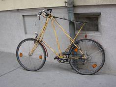 Pyörä Wienin kadulla