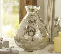 eached by hand sandblasted mercury glass vase prices $ 14.75 up - to 80 to 90 % off now . Pls order now.