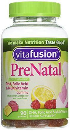 Vitafusion Prenatal, Gummy Vitamins, 90 Count //Price: $6.99 & FREE Shipping //     #hashtag4