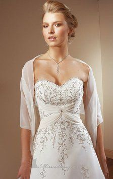 Brand New Mori Lee 2105 Wedding Dress For Sale on Tradesy