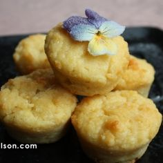 Low Carb Lemon Ricotta Muffin... Instead of pitching the ricotta in the fridge, I can make these with protein, then say goodbye to dairy :(