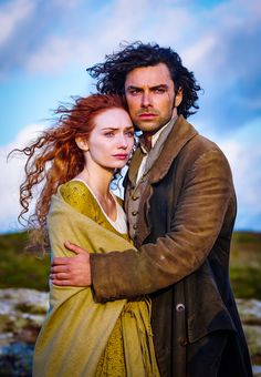 Ross and Demelza Poldark have returned this time even sexier than last. Aidan is a hunk and Eleanor can really do RED Hair - WOW