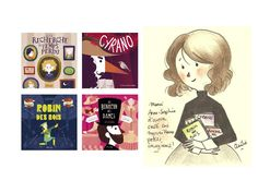 Anne-Sophie Tilly   Auteur jeunesse Robin, Comics, Projects, Friends, Art, Writing For Children, Youth, Livres, Log Projects