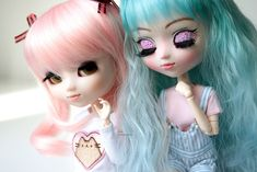 Pullip My Melody & Pullip MIO-kit Olive (makeup by me) My Melody, Disney Characters, Fictional Characters, Kitty, Dolls, Disney Princess, Art, Kitten, Kitty Cats