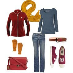 """""""love this casual cool look"""" by lynnerambling on Polyvore"""