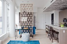 bidwell_1130 Metal Room Divider Temporary Wall Living Magazine Interior Design Services West & 80 Best Dividing wall ideas for studios images in 2019 | Room ...