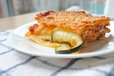 Healthy Zucchini Lasagna Healthy Zucchini Lasagna, Classic Italian Dishes, Healthy Recipes, Celiac Recipes, Free Recipes, Vegetarian Recipes, Healthy Food, Dinner Entrees, Food Reviews