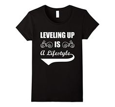 Womens LEVELING UP T-SHIRT Small Black MY LIFE I LOVE T-S... https://www.amazon.com/dp/B073VCV6TX/ref=cm_sw_r_pi_dp_x_jH8BzbT8WR13Q