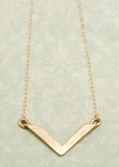 gold chevron necklace | Lisa Leonard Designs