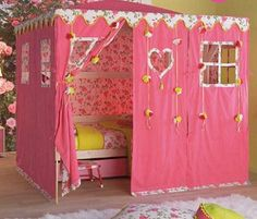 toddler girl room decorating themes | ... themed room decorating ideas for baby girls bedroom room decor