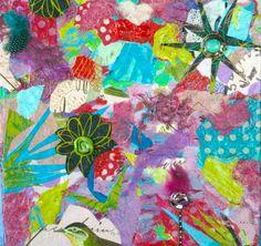 Star Flower, Garden Party series, www.melaniebirk.com#flowerart#floralpaintings#colorfulwallart