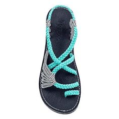 SUMMER SAVINGS ON THESE STYLISH SANDALS SAVE OVER 40% TODAY... STYLISH & COMFORTABLE: The colorful straps are made of high quality soft nylon to provide a blister free walk, and they can be slightly adjusted.These unique women's sandals are not just comfortable; they also match with practically anything  #Bigstartrading