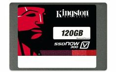 59% off on Kingston Digital 120GB SSDNow V300 SATA 3 2.5 (7mm height) with Adapter Solid State Drive 2.5-Inch SV300S37A/120G