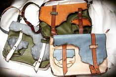 Глобальный заказ был Сразу три в одни руки: себе и дочкам заказала прекрасная женщина из Чувашии.  Все из грибной поляны)  #ручнаяработаназаказ #ручнаяработа #сумкаручнойработы #handmade_bags #handmadeleatherbag #redsun_handmade