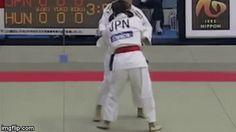 Judo 유도 : Tai-otoshi