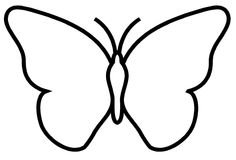 Butterfly template - could use with folded paper printmaking Papillon clipart cute butterfly outline - pin to your gallery. Explore what was found for the papillon clipart cute butterfly outlinefree stencils printable cut outButterfly Coloring Pages For K Butterfly Outline, Butterfly Template, Cute Butterfly, Butterfly Coloring Page, Gifts For Photographers, Stained Glass Patterns, Art Activities, Art School, Coloring Pages