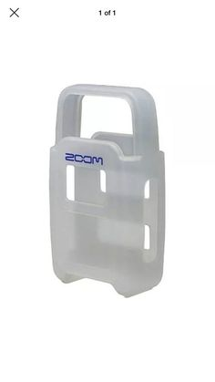 400c68f6b49 New ZOOM H2SJ Silicone Jacket for H2 Portable Recorder Protective Clear  Cover