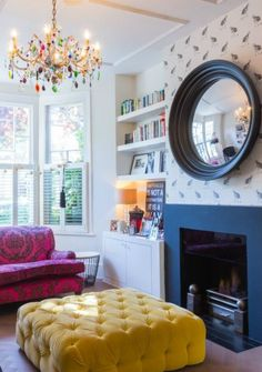 happy modern Victorian home interior 4