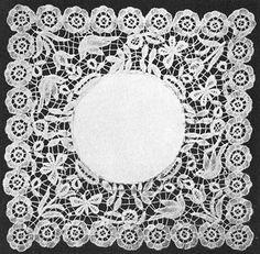 The Revival of Honiton Lace - Honiton lace design, 1910